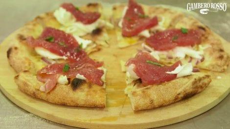 Pizza Tonda. La ricetta di Giovanni Marchetto e Luca Pezzetta