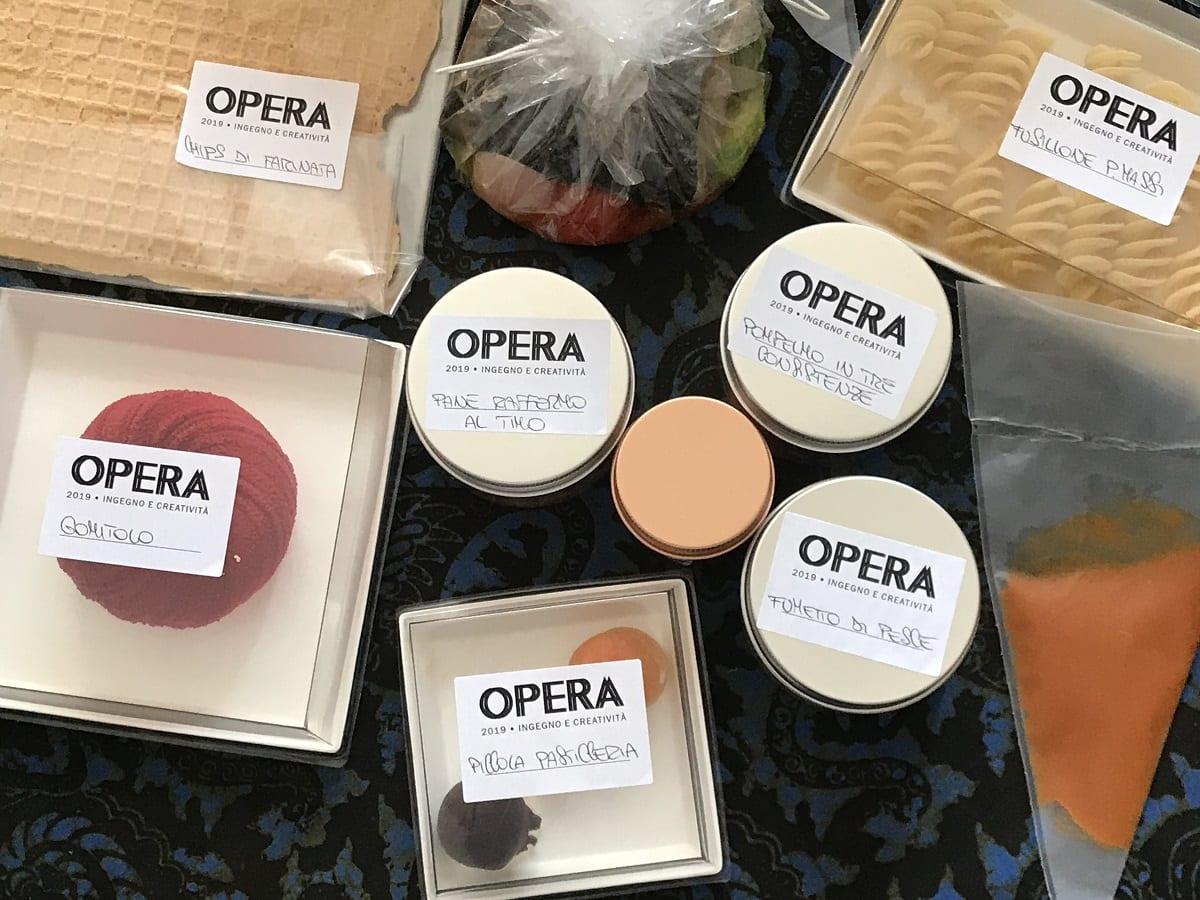 Il kit fine delivery di Opera a Torino