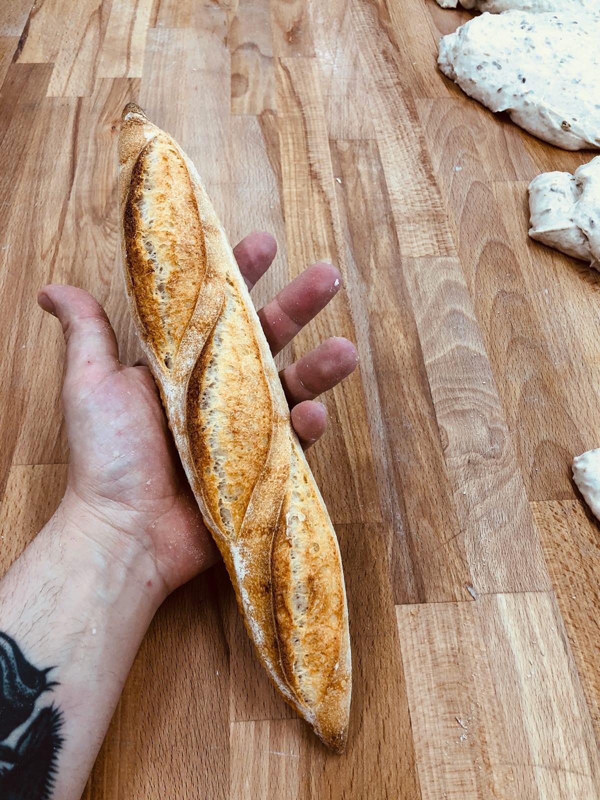 Jonathan Trombini ricetta baguette