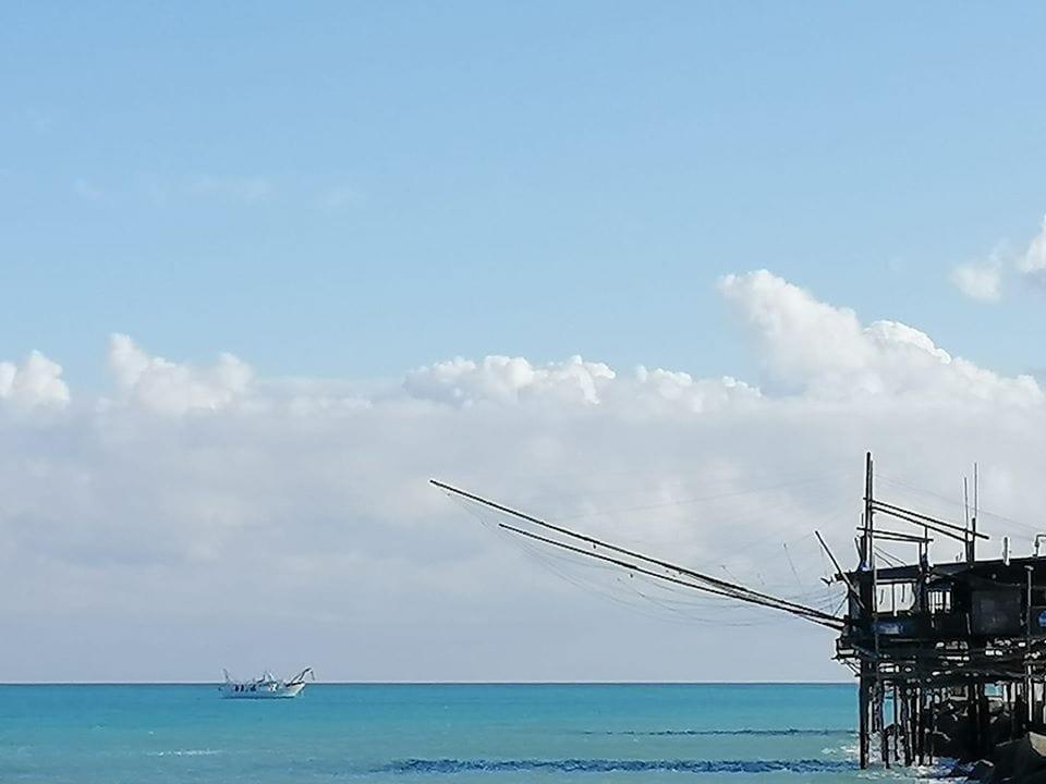 Un trabucco sul mare in Abruzzo