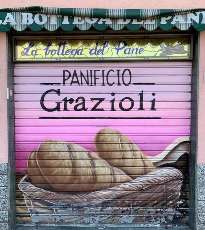 ricetta panfrutto Panificio Grazioli