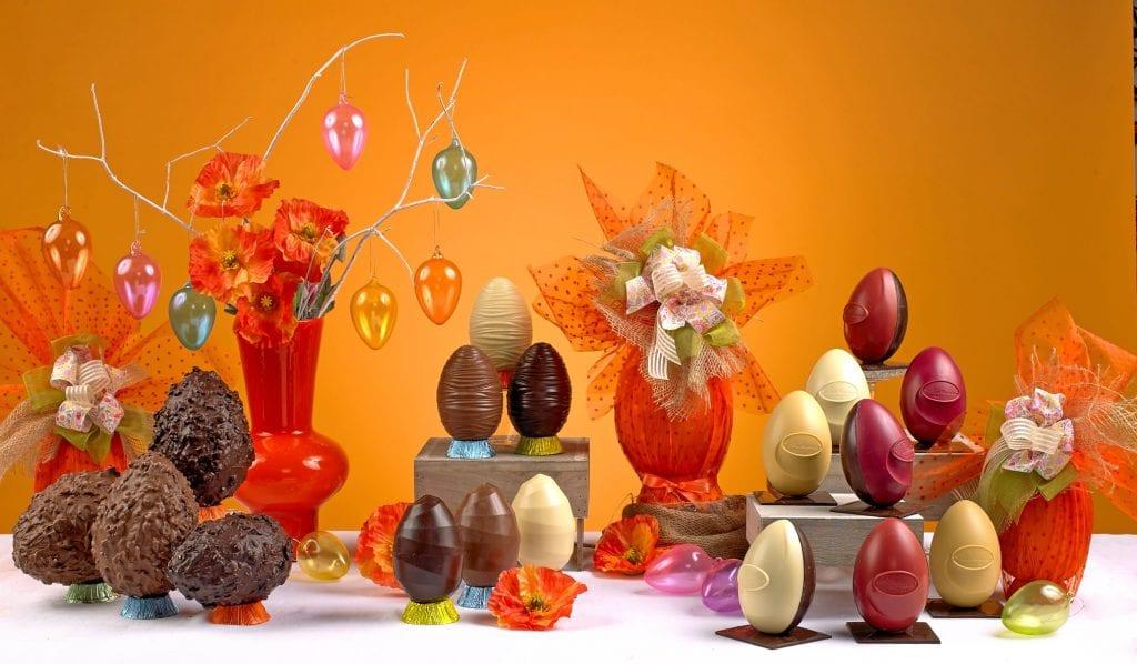 Le uova di Pasqua della pasticceria Martesana