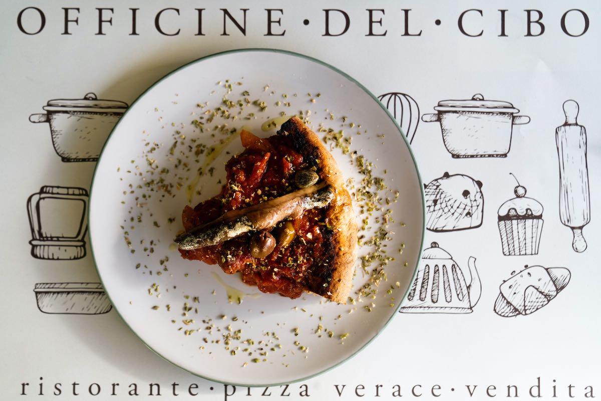 Piscialandrea ricetta - Officine del Cibo