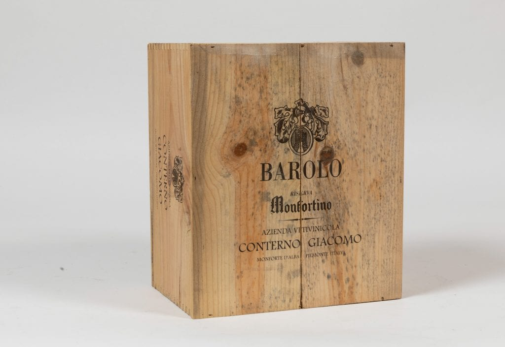 Barolo Monfortino asta Cambi