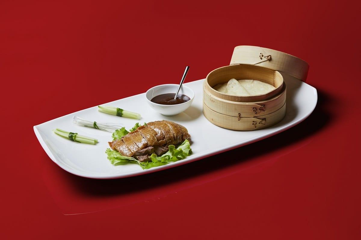 un piatto di Bon Wei a MIlano