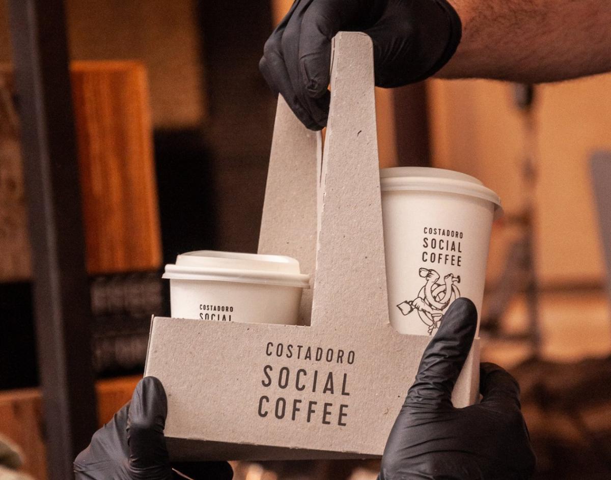 Costadoro Social Coffee bar da asporto Torino