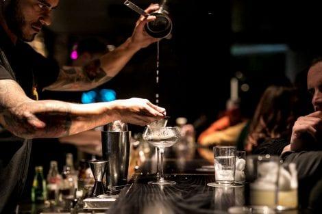 Preparazione cocktail, Drink Kong