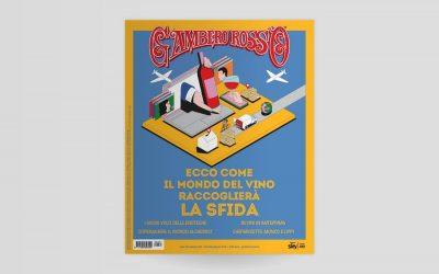 La copertina di giugno 2020 del Gambero Rosso