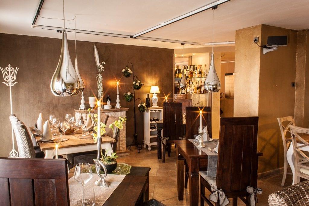 La sala de L'Arte in cucina a Dusseldorf