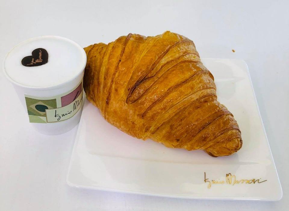 cornetto e caffè a portar via, Iginio Massari