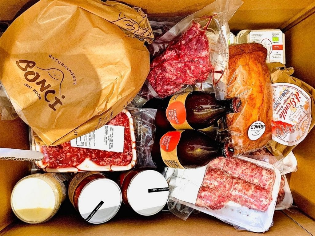 box prodotti Il Tascapane