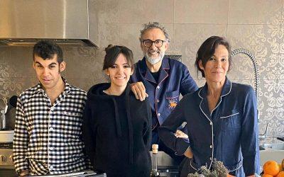 La famiglia Gilmore Bottura in Kitchen Quarantine