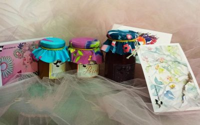 tre vasetti di confettura di Giorni di marmellata