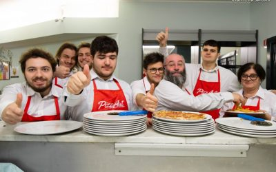 I ragazzi di Pizzaut al forno