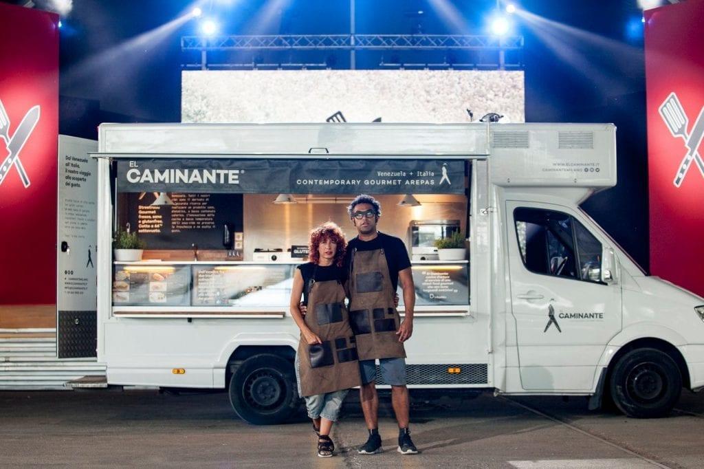 Il food truck del Caminante