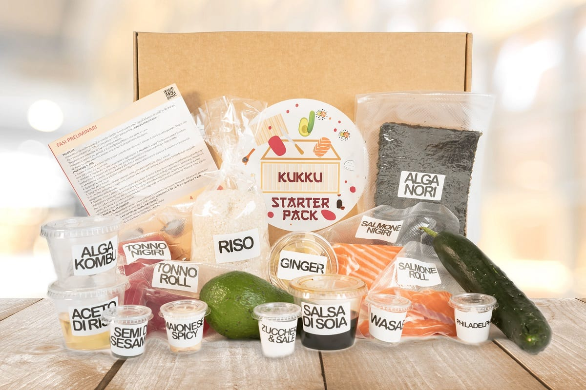 Il kit di Kukku Riso Sushi