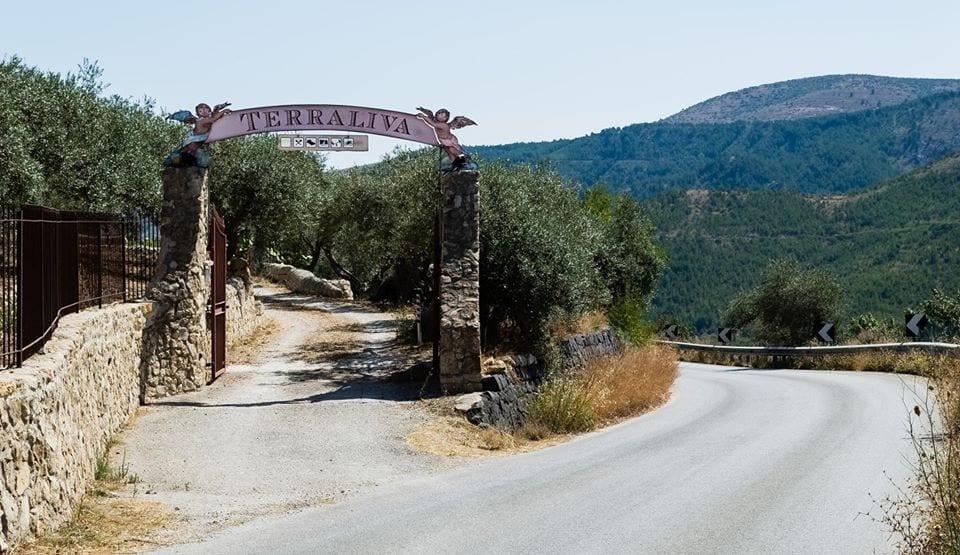 L'ingresso di Terraliva in Sicilia