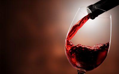 Un calice di vino