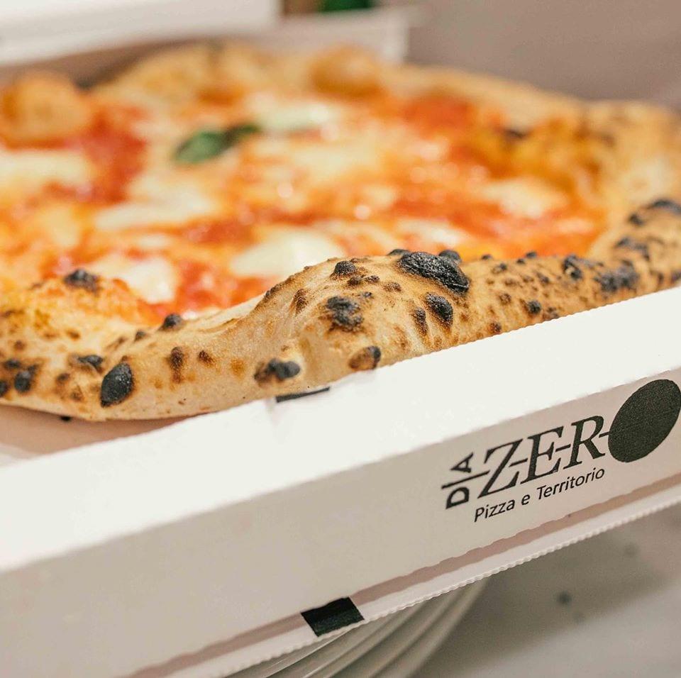 Pizza margherita take away di Da Zero
