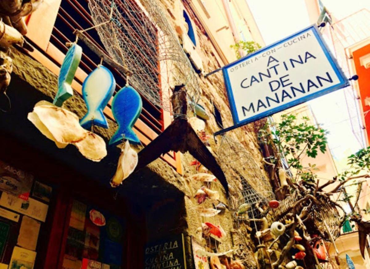 A Cantina de Mananan - Cinque Terre ristoranti