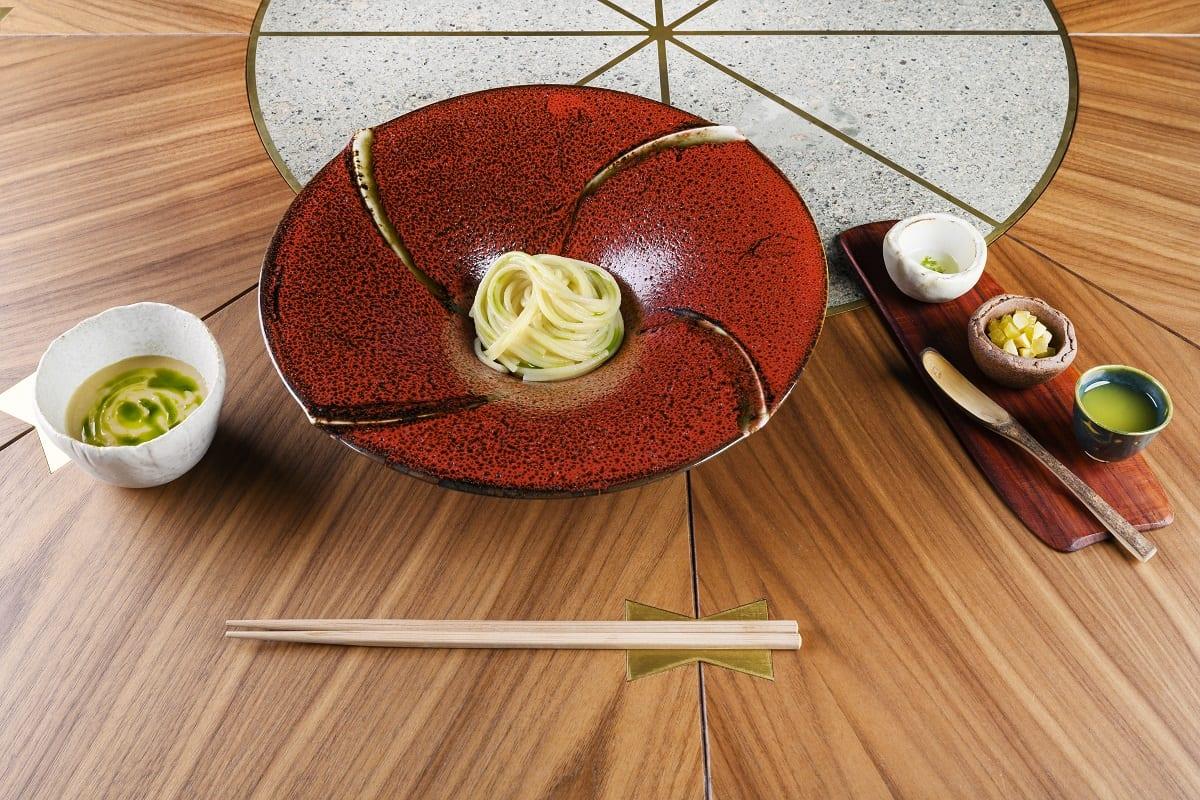 Spaghetti alla tsukomen di Takeshi Iwai