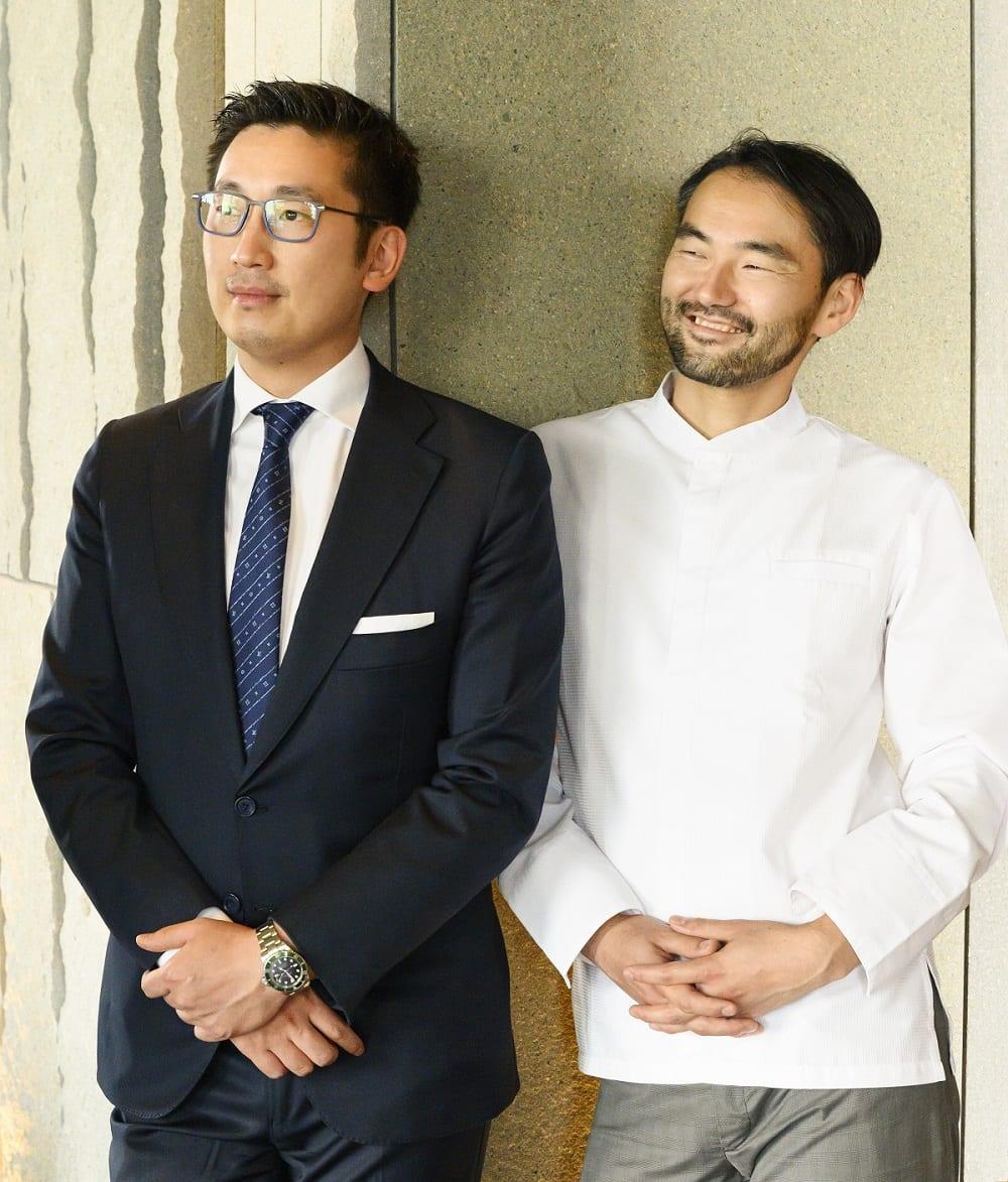 Claudio Liu e Takeshi Iwai