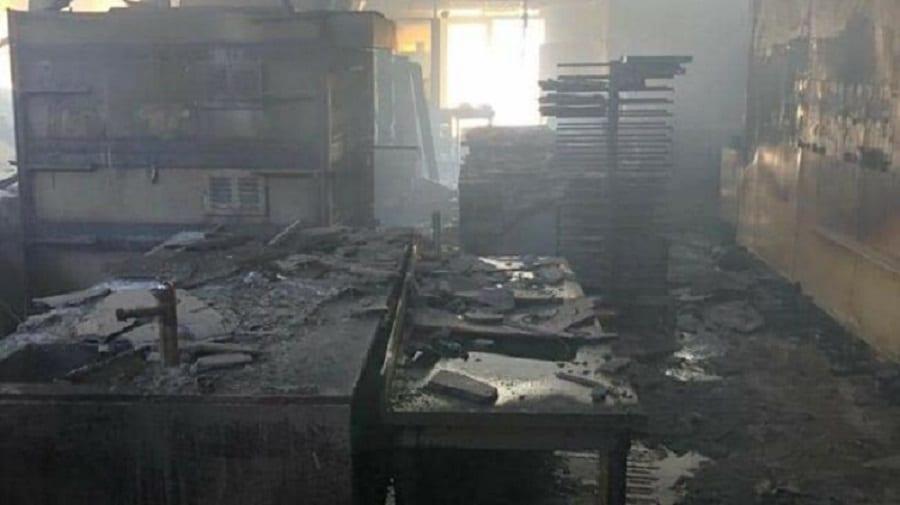 Il laboratorio di Aresu distrutto dal fuoco