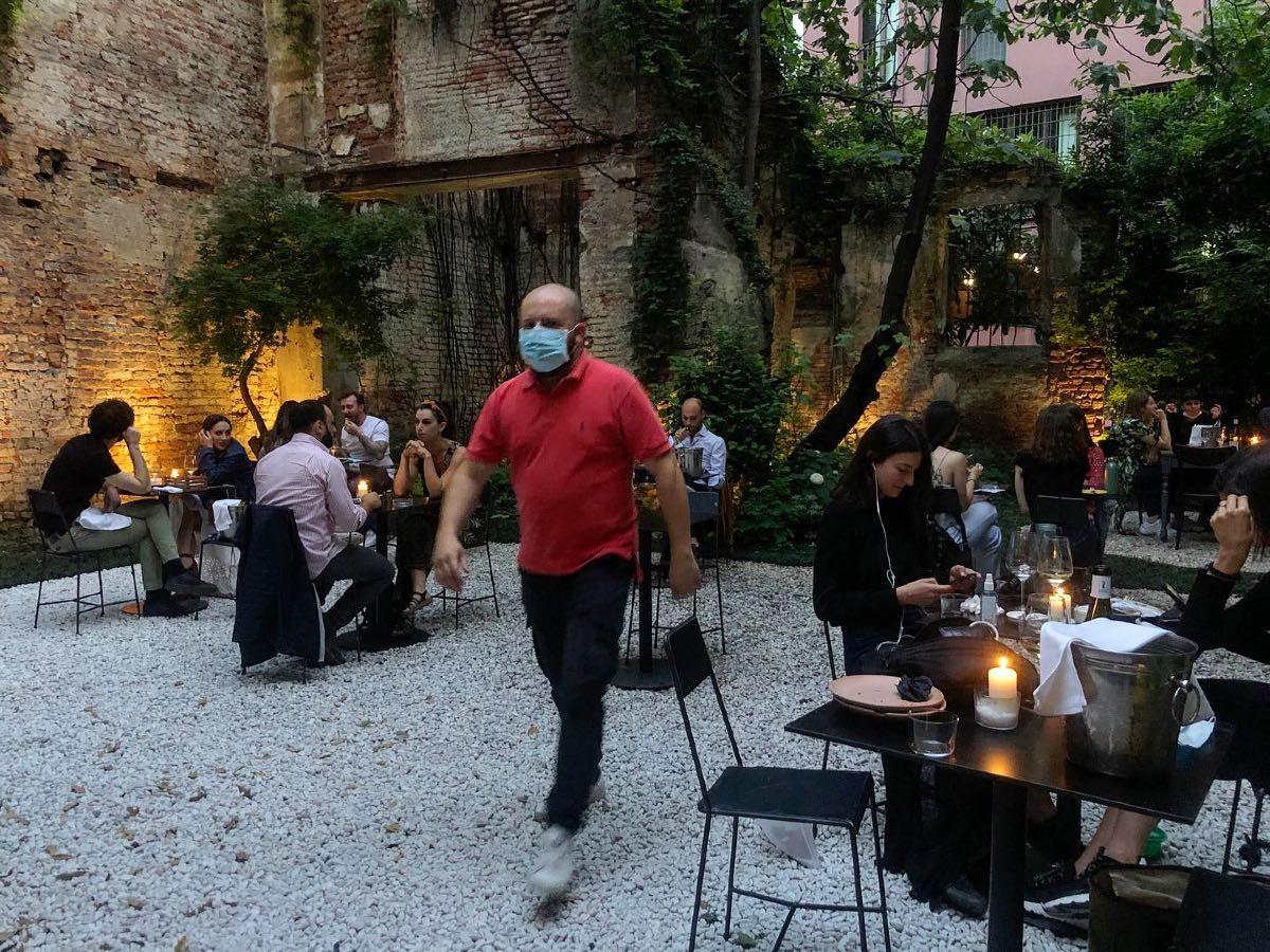 bere all'aperto Milano