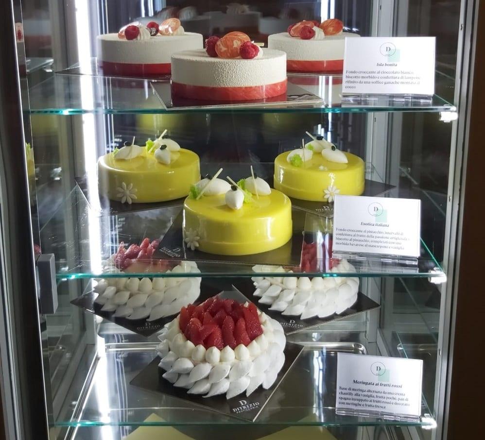 La vetrina delle torte moderne di Ditrizio