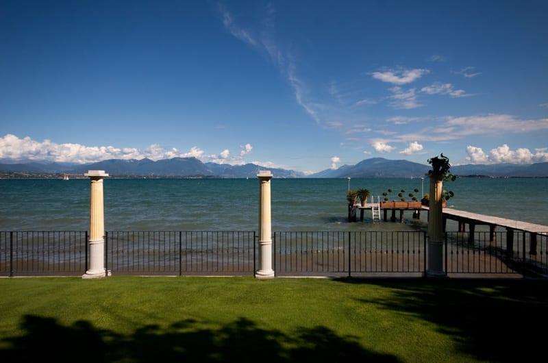 Il giardino sul lago dell'Esplanade