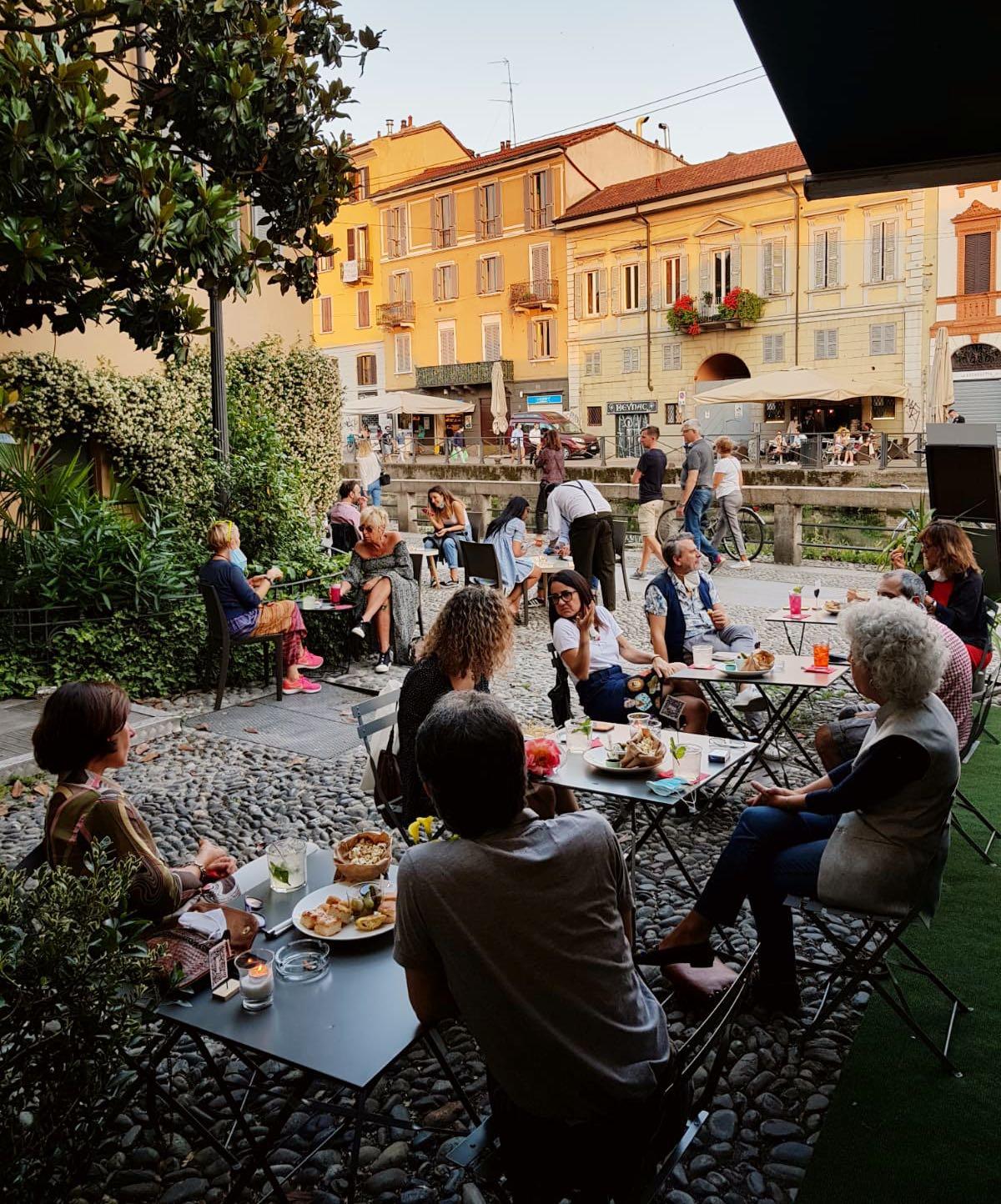 Gino12 bere all'aperto Milano