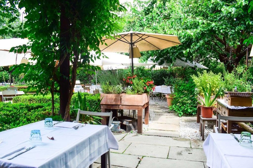 il giardino di Alfresco a Milano