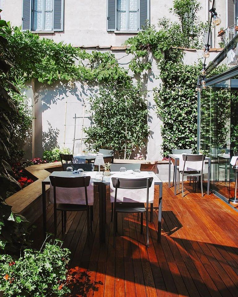 il giardino di Particolare a Milano