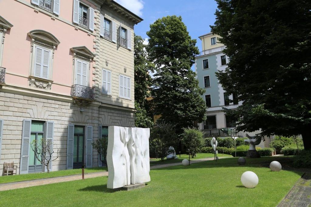 il giardino di Casa del Manzoni a Milano