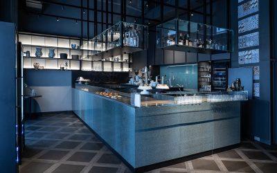 Il bancone bar di Miscela d'Oro a Messina