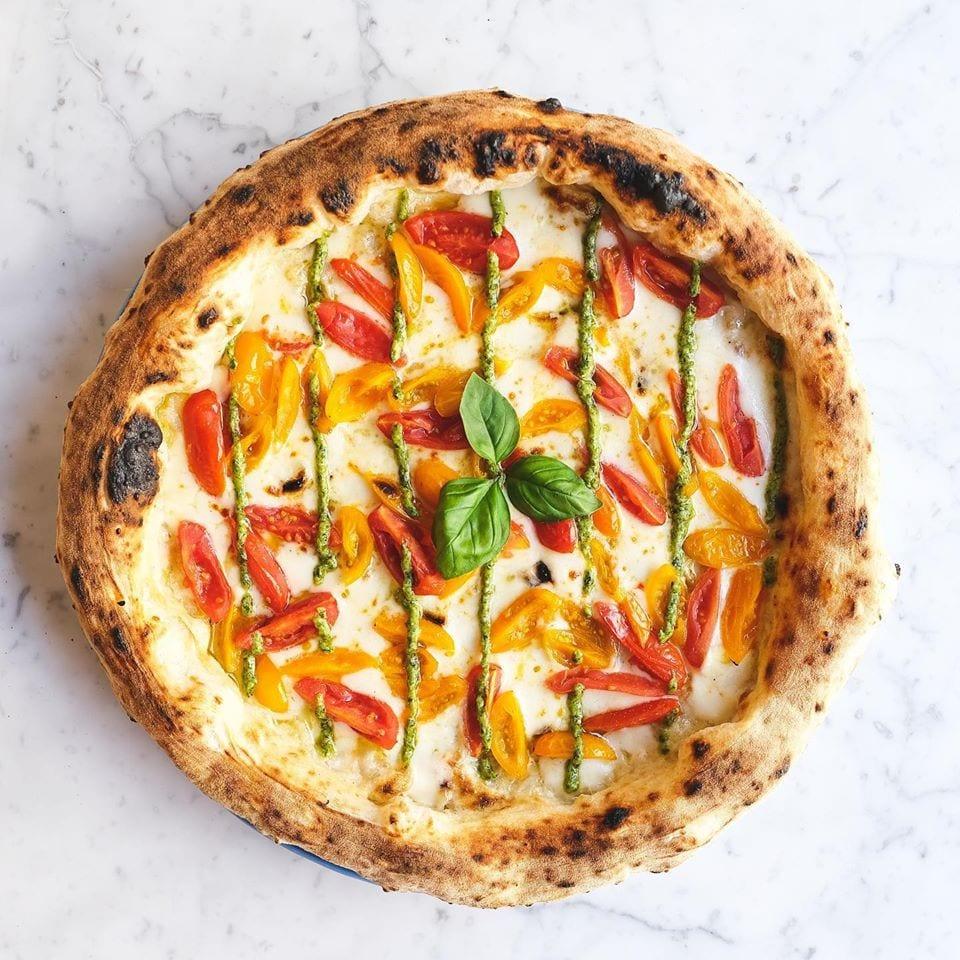 La pizza tonda di Pizzium