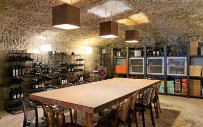 La sala con cantina di Portofranco