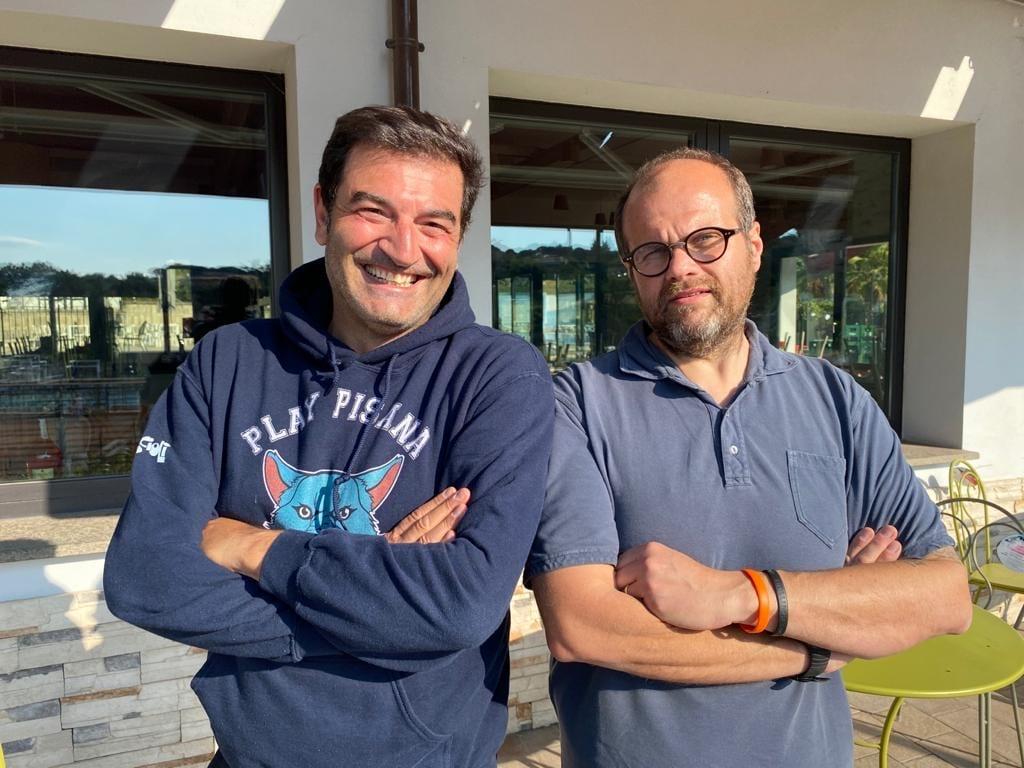 Max Giusti e Alessandro Roscioli