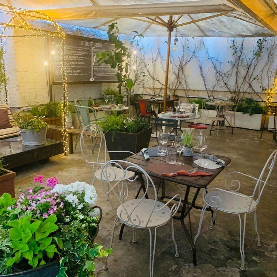 Il giardino di Pianostrada a Roma