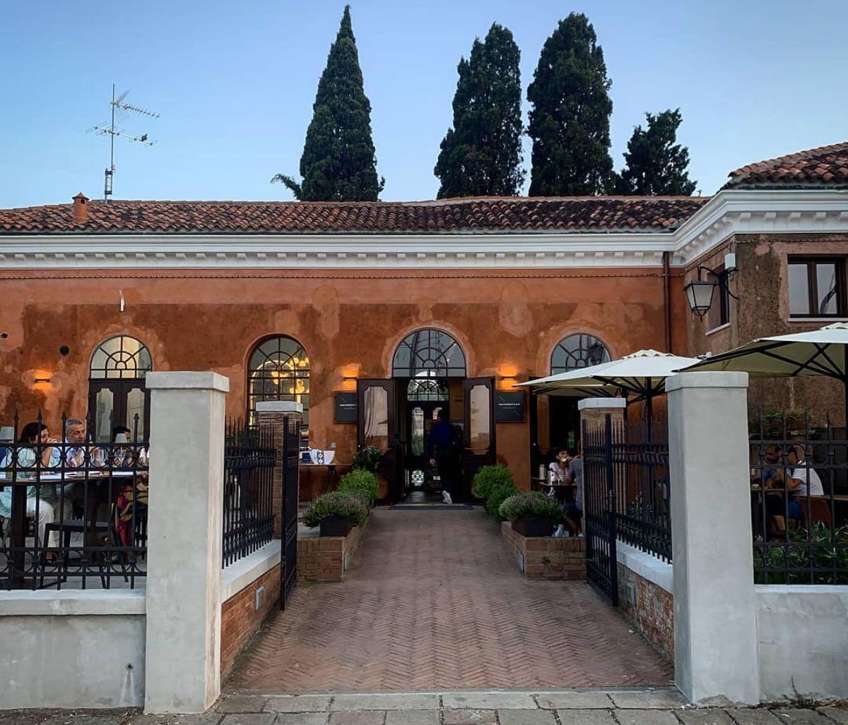 San Giorgio Cafè - mangiare a Venezia all'aperto