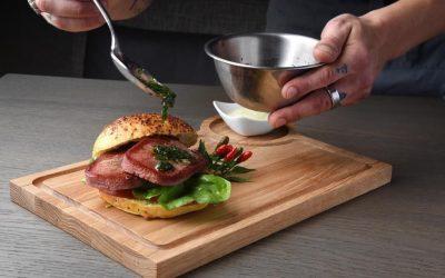 preparazione hamburger