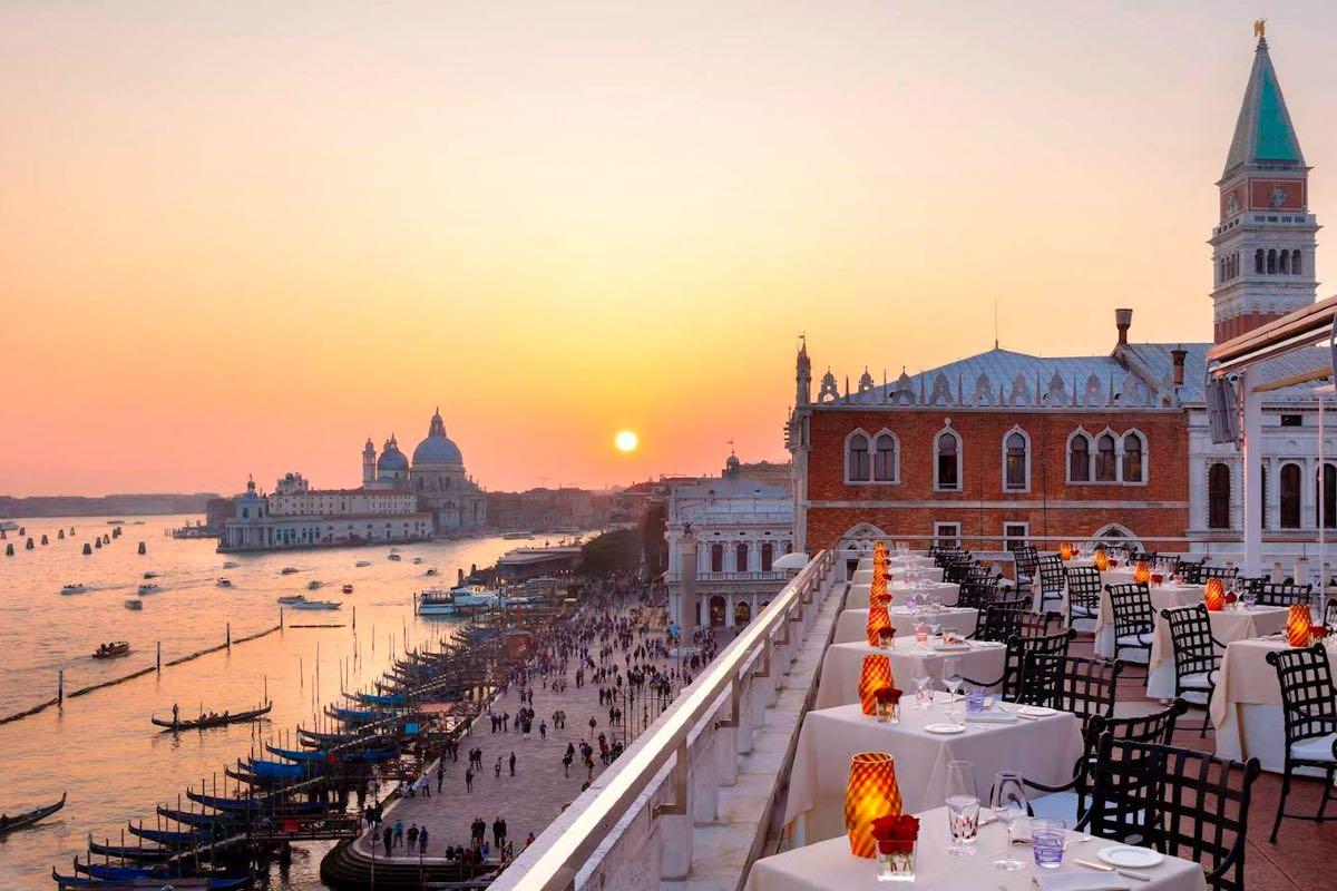 Terrazza Danieli Venezia - mangiare a Venezia all'aperto