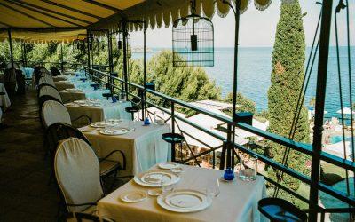 Il ristorante del Pellicano a Porte Ercole