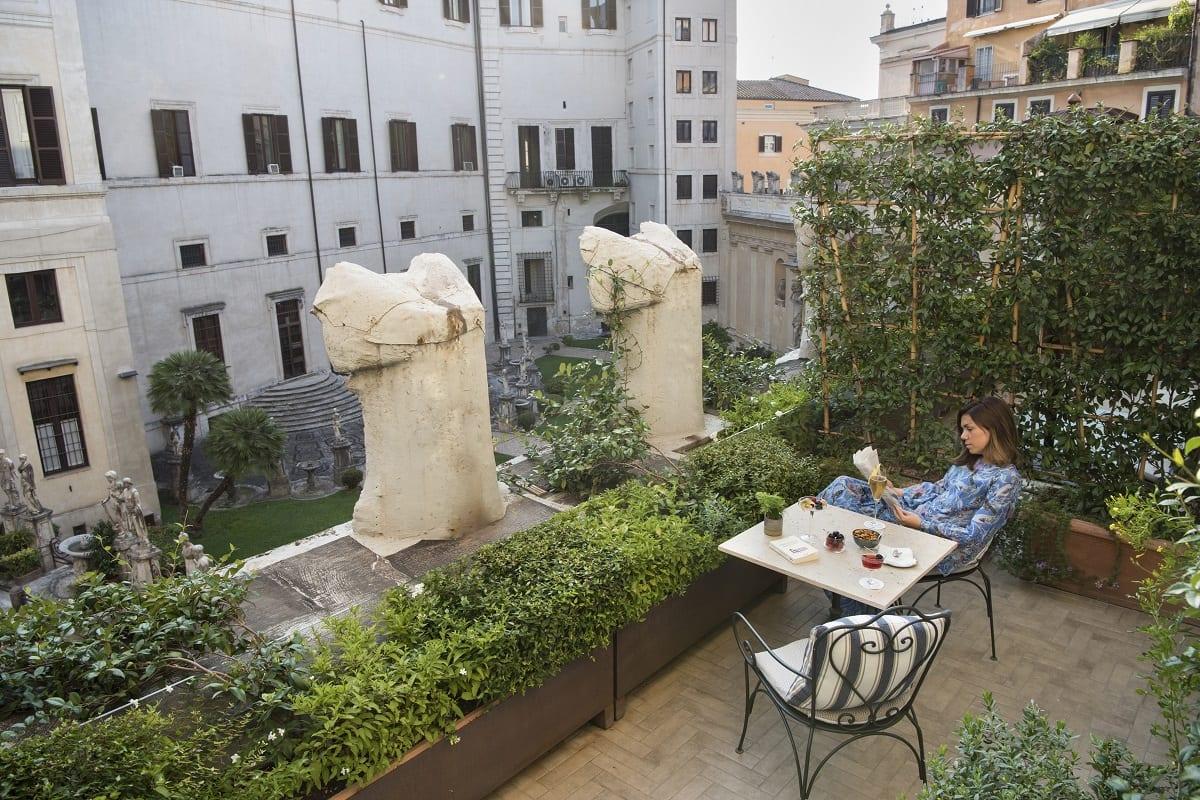 Colazione in terrazza all'Hotel Vilon