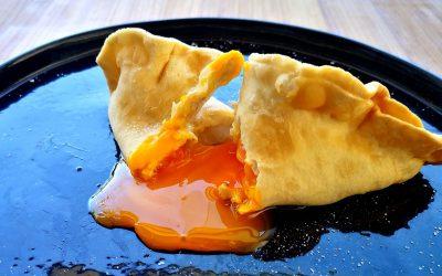ricetta con le uova - raviolo medievale ripieno di uovo
