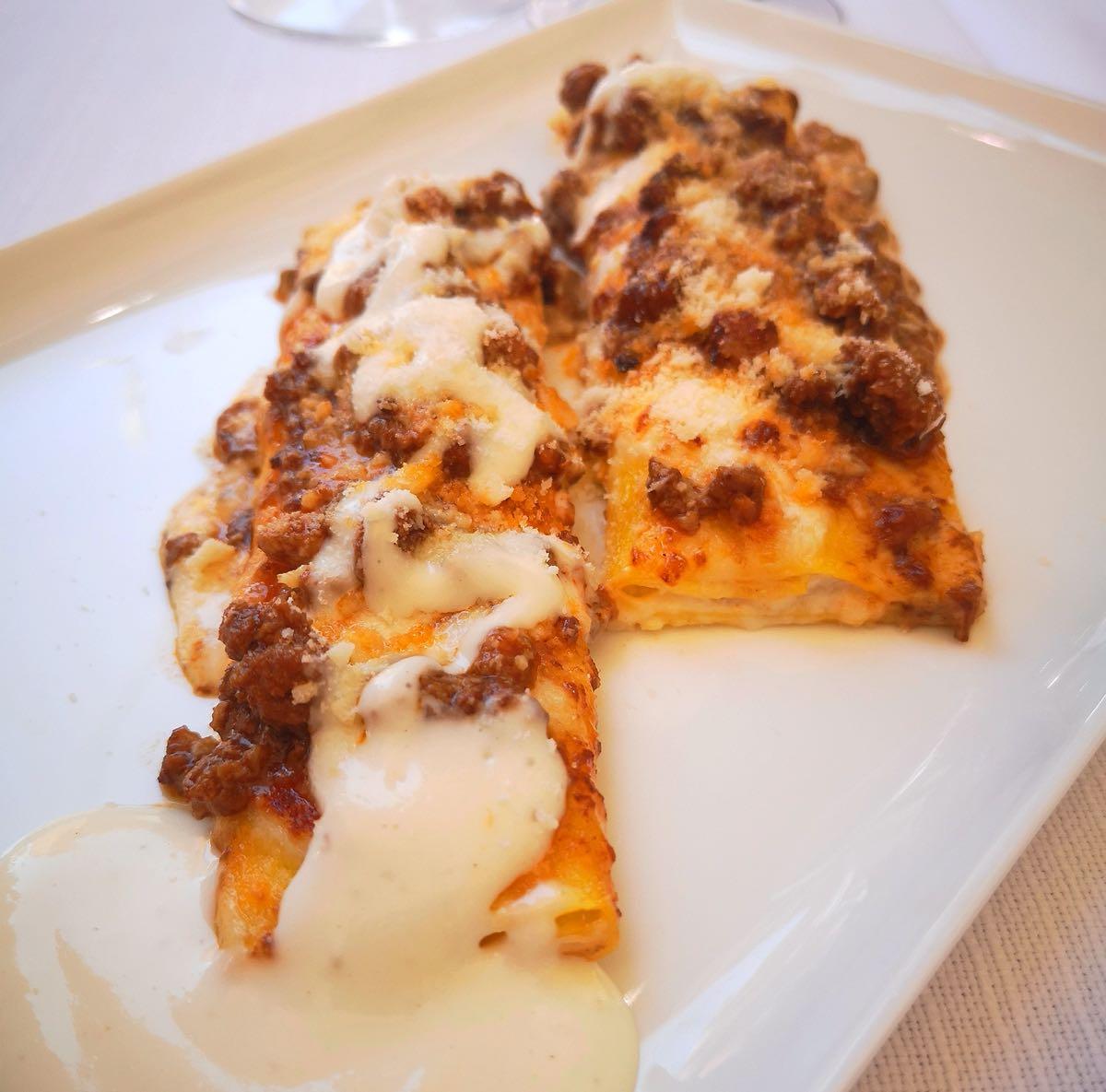 Cannelloni del ristorante Al Pappagallo di Bologna