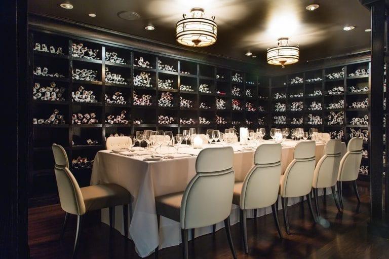 Joe Bastianich wine cellar