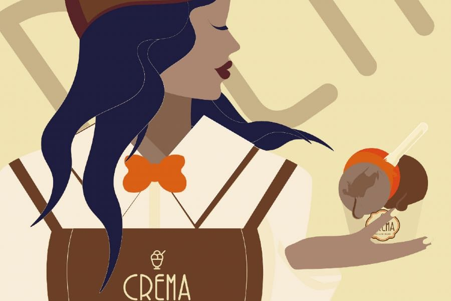 gelateria Crema a Milano, il nuovo progetto di Bulgari