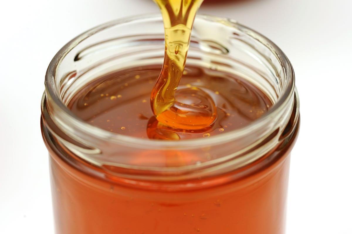 vasetto con il miele