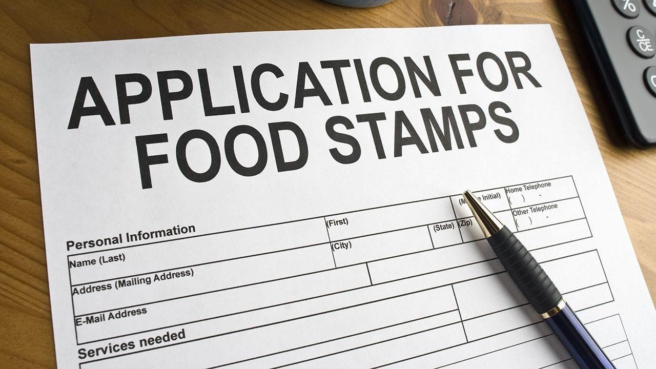 Modulo per richiedere aiuti alimentari in America